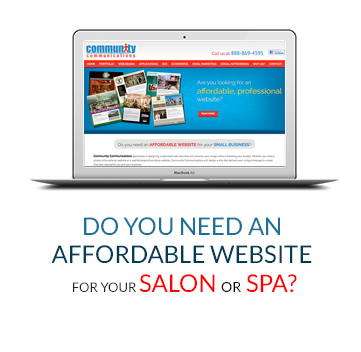 Do You Need An Affordable Website For Your Salon or Spa?